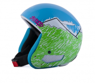 CASQUE SHRED MBB NEEDMORESNOW GREEN/BLUE